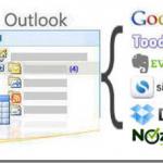 これは何だ?Outlookと複数のクラウドサービスを同期するアプリ